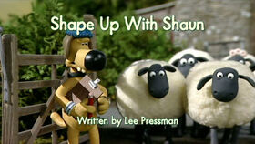 Shape Up With Shaun title card