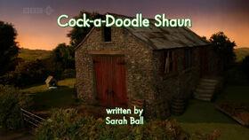 Cock-a-Doodle Shaun title card