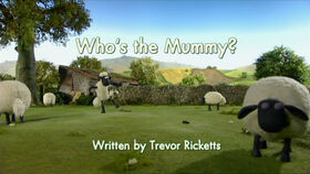 Who's the Mummy title card