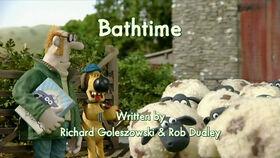 Bathtime title card