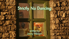 Strictly No Dancing title card