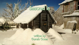 Snowed In title card