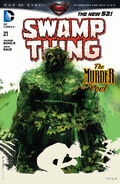 Swamp Thing Vol 5-21 Cover-1