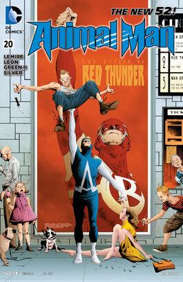 Animal Man Vol 2-20 Cover-1