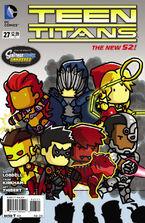 Teen Titans Vol 4-27 Cover-2