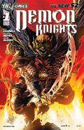 Demon Knights Vol 1-1 Cover-2