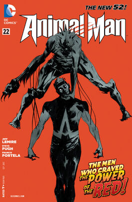 Animal Man Vol 2-22 Cover-1