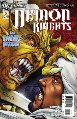 Demon Knights Vol 1-5 Cover-1