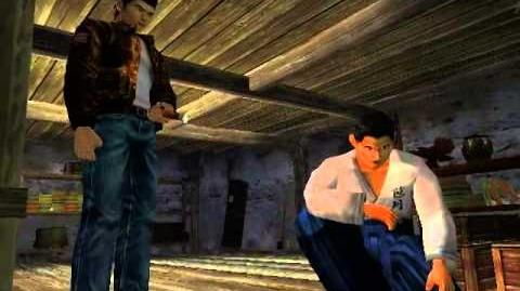 Shenmue - Rare scenes with Fuku-san in the basement
