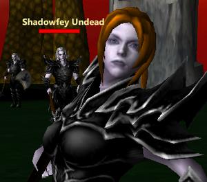 Shadowfey Undead sol