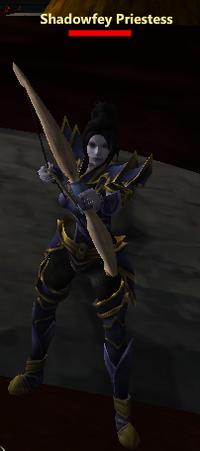 Shadowfey Priestess sol