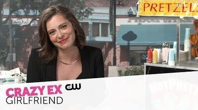 Crazy Ex-Girlfriend Soft Pretzels with Rachel Bloom The CW