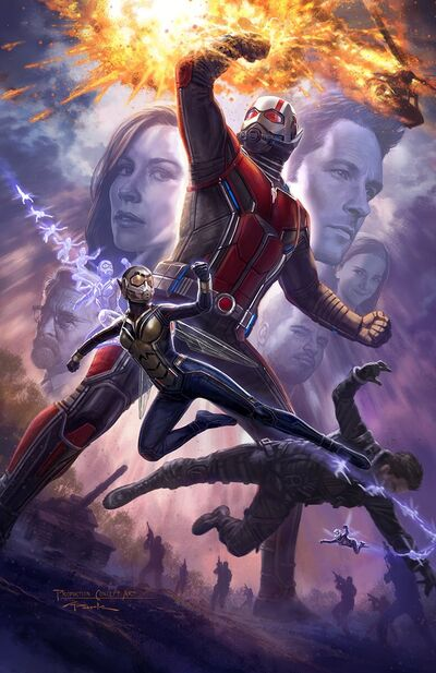 Ant-Man & the Wasp SDCC Poster