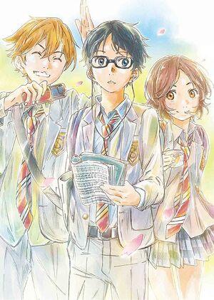 Shigatsu wa Kimi no Uso - Original Song Vol. 1-Album Art