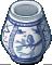 Blue Pottery Pot