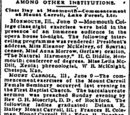 Chicago Herald/1891-06-10/Among Other Institutions