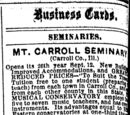 Freeport Journal/1879-04-30/Business Cards