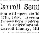Waterloo Courier/1868-08-13/Mt Carroll Seminary