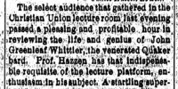 Rockford Register/1885-03-11/Prof Hazzens Whittier