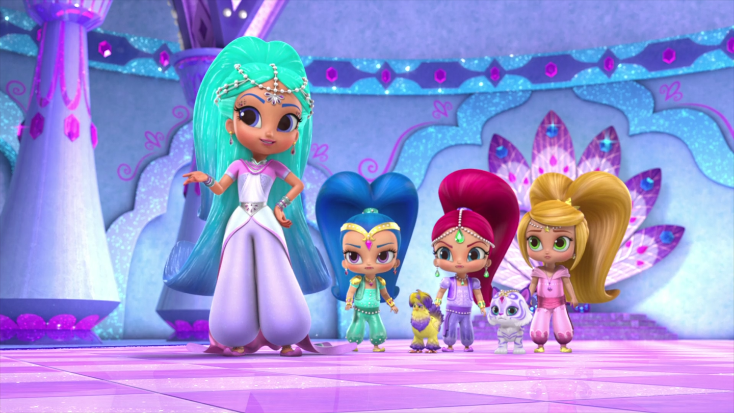 Image princess samira shimmer and shine staffinated