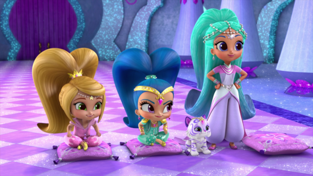 File:1 Leah, Nahal and Princess Samira Shimmer and Shine.png