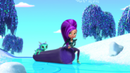 Zeta the Sorceress Shimmer and Shine Snow Place