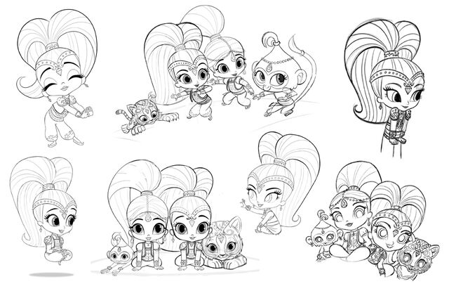File:Shimmer and Shine Production Sketches 1.jpg