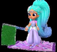 Princess Samira Sprite from Shimmer and Shine Carpet Racing Game