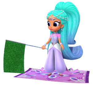 File:Princess Samira Sprite from Shimmer and Shine Carpet Racing Game.png
