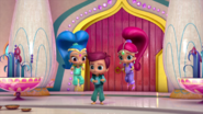 Kaz with Shimmer and Shine