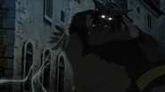 Demon trying to attack Favaro