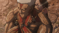 The 104th try to talk to Reiner and Bertholdt