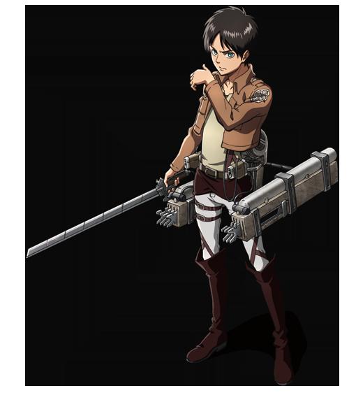 Image - Eren Jaeger Transparent.png | Attack On Titan Wiki ...