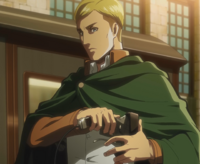 Erwin puts on his ODM