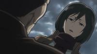 Mikasa Threatens Dimo