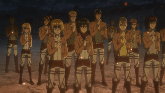 New Survey Corps members