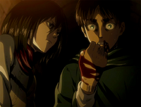 Eren's hesitation