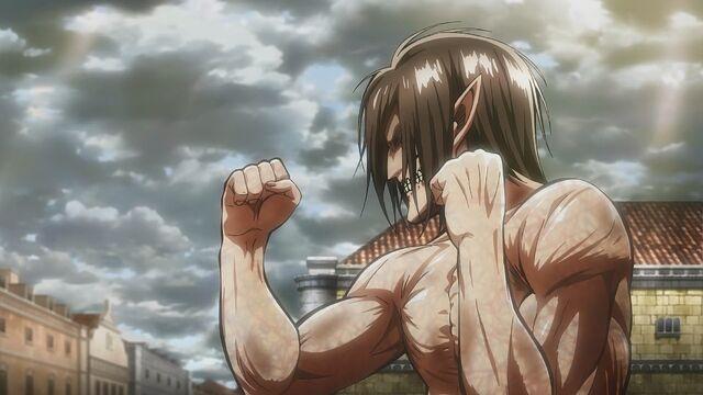 File:Eren in Titan form ready to fight.jpg