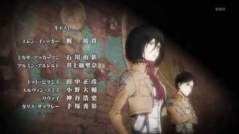 HD Shingeki no Kyojin 進撃の巨人 ED Ending 2 - 「望郷」Great Escape ATTACK ON TITAN.