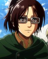 Hange Zoë in anime