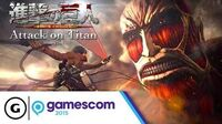 Attack on Titan (Working Title) Teaser Trailer - Gamescom 2015