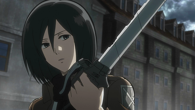 File:Mikasa kills the abnormal Titan.png