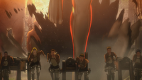 The Garrison running from the Armored Titan.png