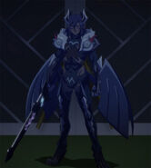 Demon Lord Leohart Stitched Cap (Shinmai Maou no Testament BURST 01)