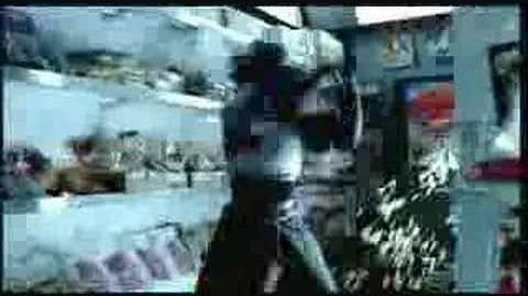 A commercial for Shinobi 2002, featuring Hotsuma's scarf