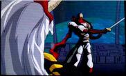 Jiro defeats shadow master