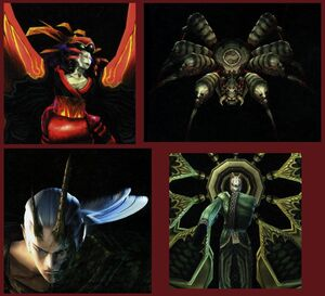 The Four Hellspawn Lords