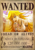 Adele wanted poster