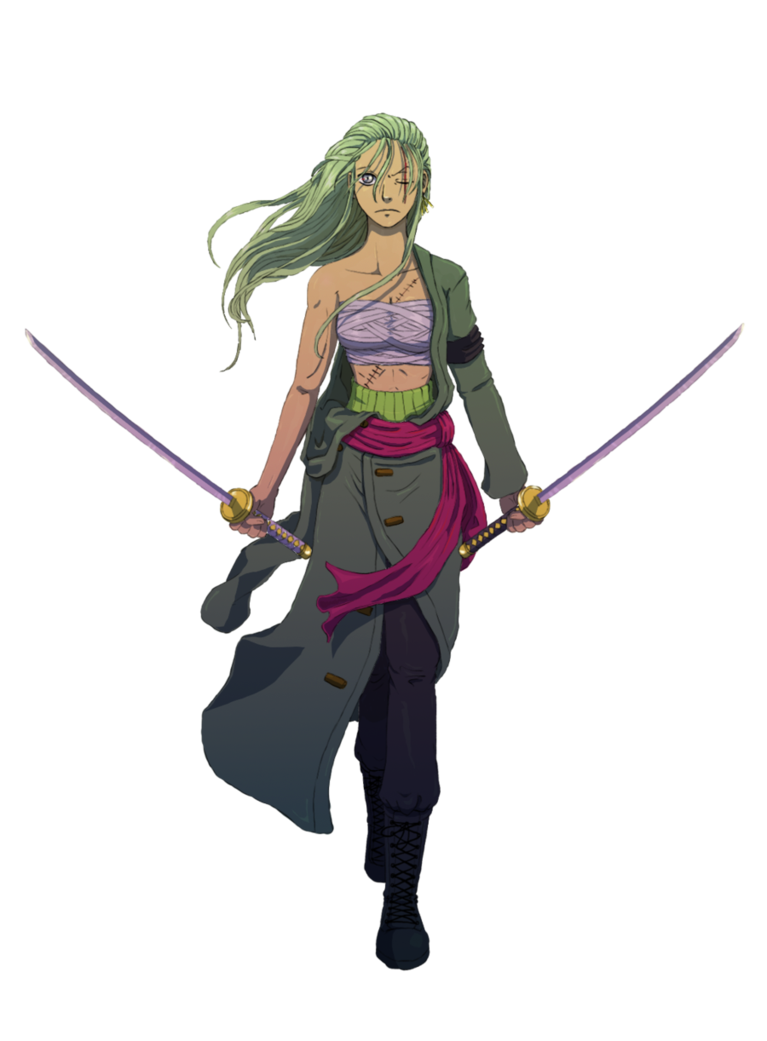 Image - Female Zoro.pn... Luffy 2 Years Later Haki
