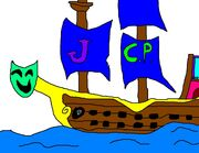 Clown pirates ship